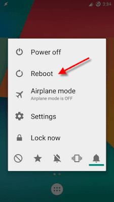 Reboot option