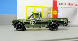 Hot Wheels $uper Treasure Hunt Datsun 620 pickup
