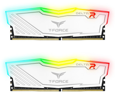 Team Group Delta White RGB 2x16 GB 2400