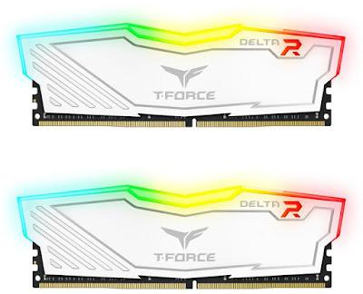 Team Group Delta White RGB 2x16 GB 2400