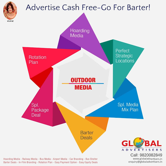 Global Advertisers- OOH Media Advertisement in Mumbai