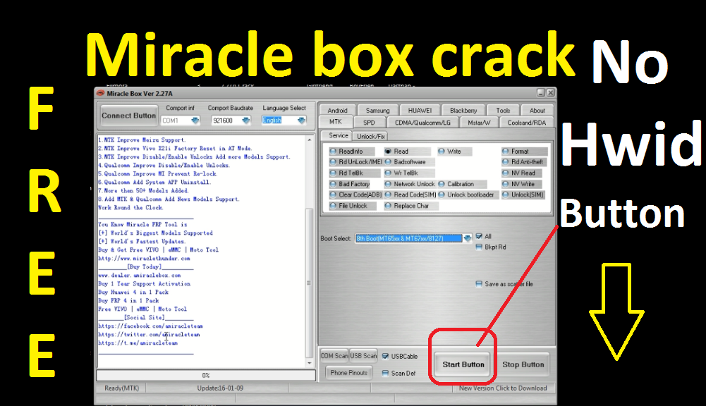 Miracle Box 2 27A Cr@ck 2018-2019 Fully Free 100% Working