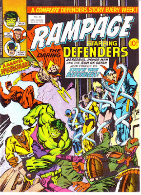 Rampage #23, Defenders vs the Sons of the Serpent