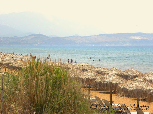spiaggia di Xi, isola di Cefalonia