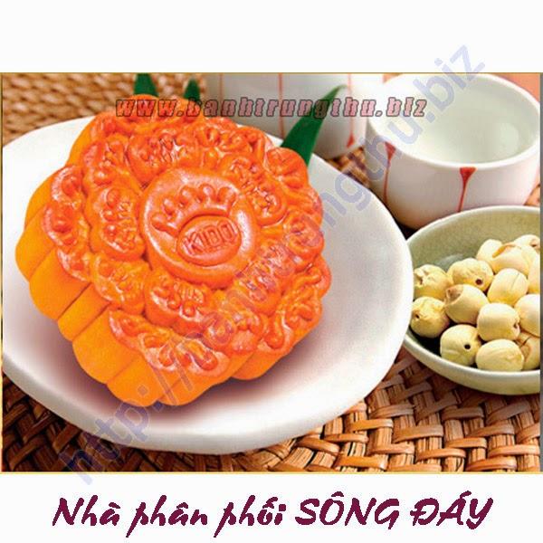 Bánh Trung thu nướng Kinh Đô hạt sen chiết khấu cao