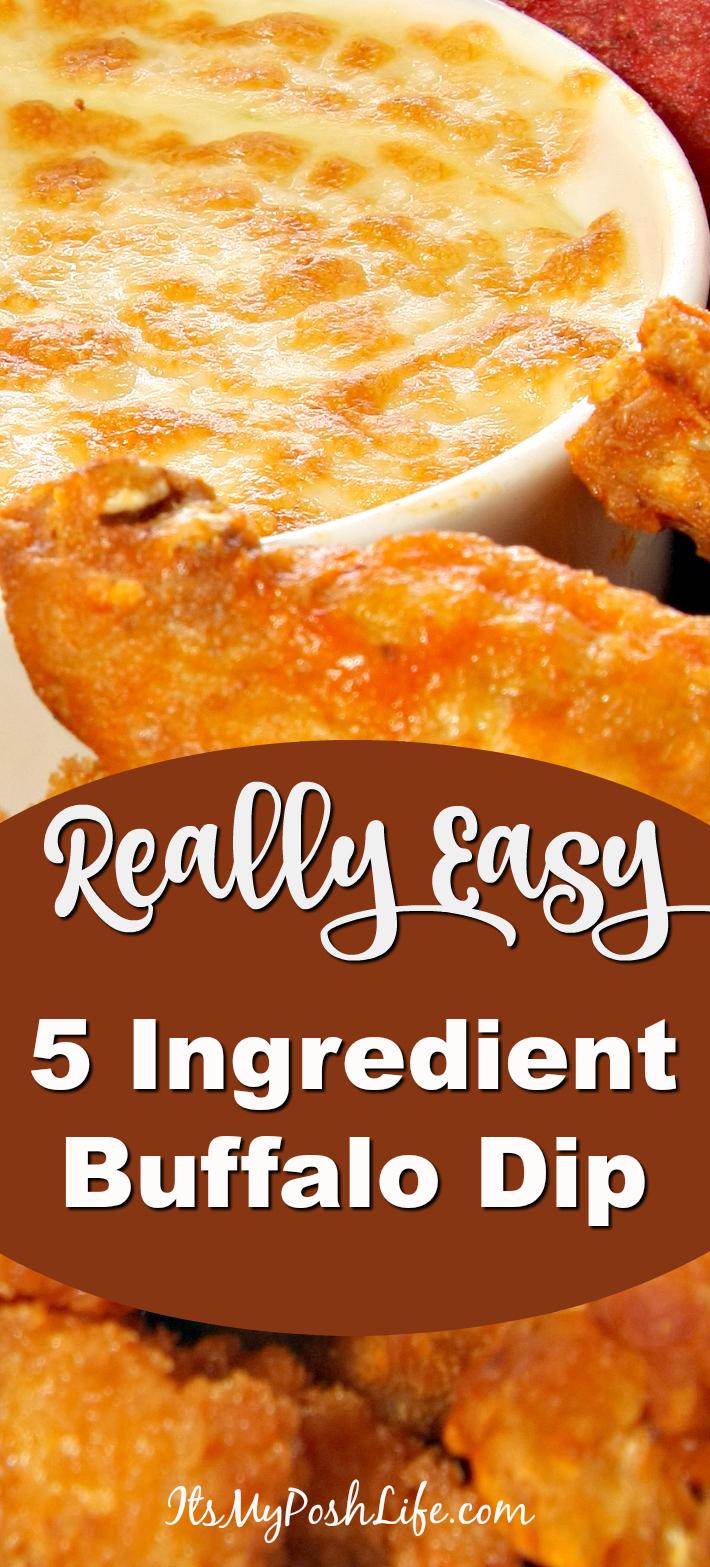 5 Ingredient Buffalo Dip