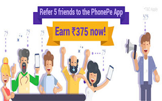 phonepe refer & earn