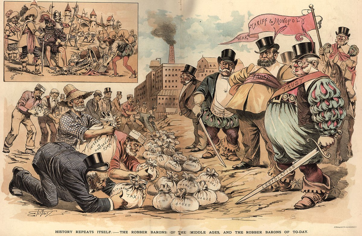 corruption during that gilded age