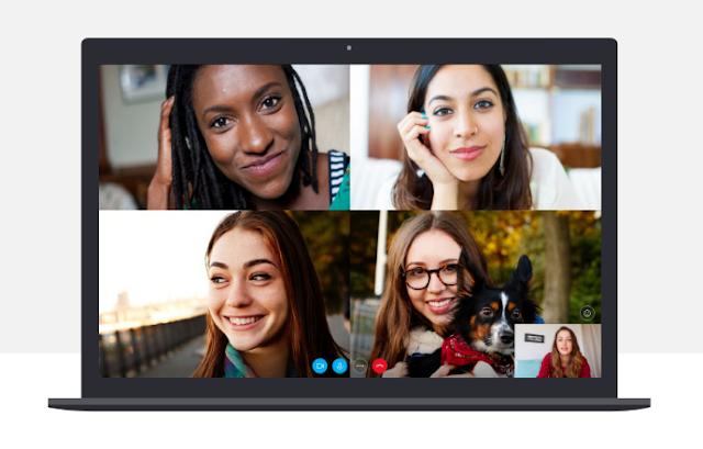 يمكنك الآن استخدام سكايب مع ما يصل إلى 50 مشاركًا في الدردشة المرئية