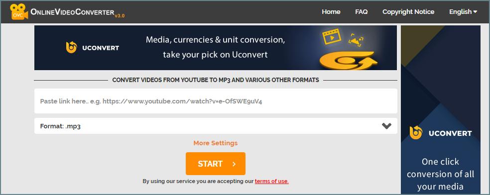 Online video converteryoutube downloader