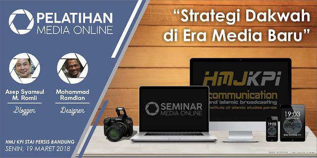 HMJ KPI STAIPI Bandung Gelar Pelatihan Media Online
