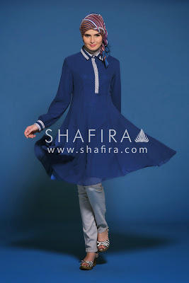 Model Baju Muslim Shafira Modern Terbaru