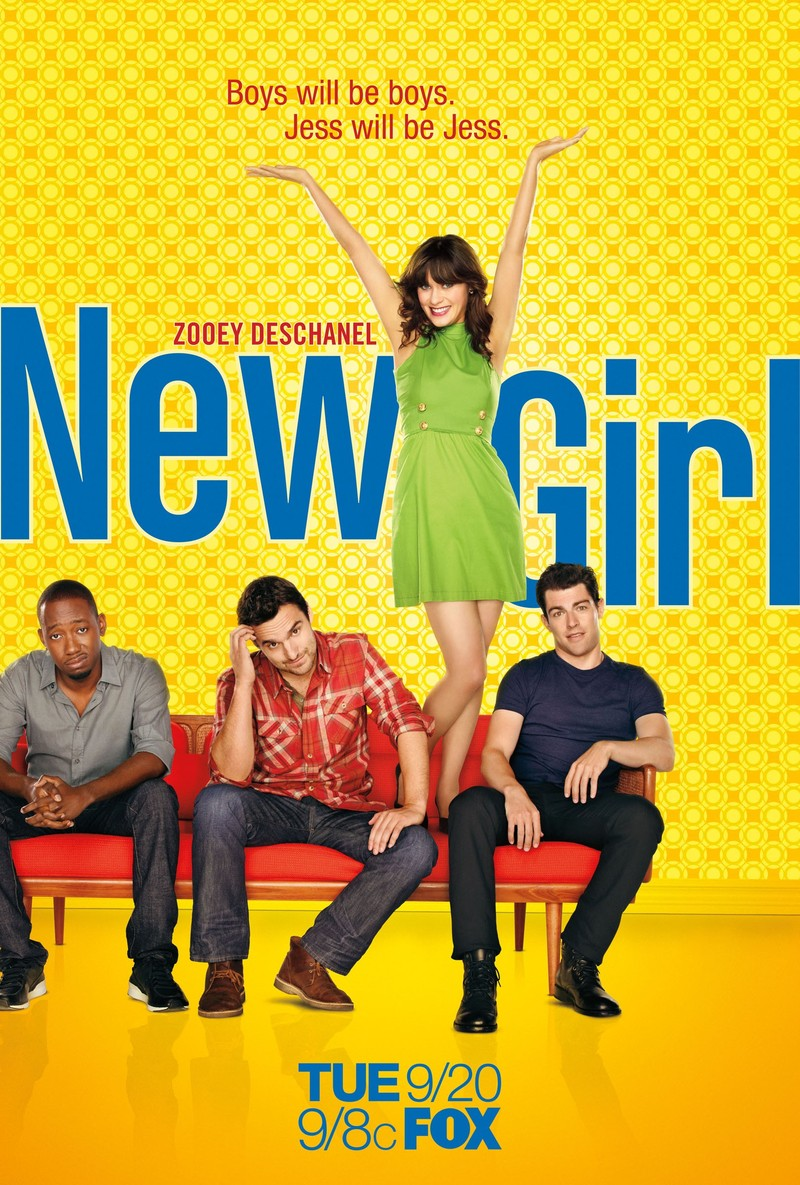MEJORES SERIES 2010-19 New-Girl-2011-movie-poster