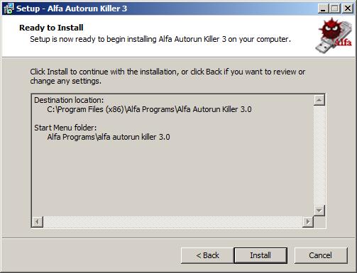 كيف تقوم بحذف فيروس autorun بطريقة فعالة عبر أداة Alfa Autorun Killer