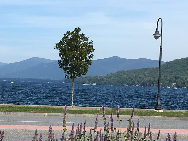 A peaceful break at Lake Champlain! Looks Like Language