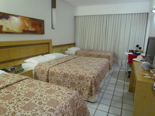 Quarto Hotel Visual Praia Natal RN