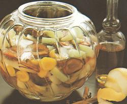 Tirštas vaisių kompotas