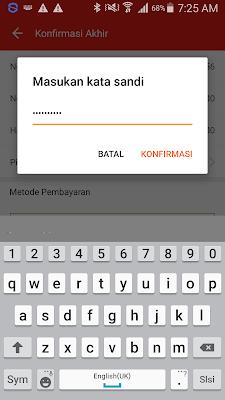 password aplikasi akulaku