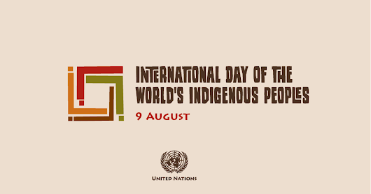 International Day of the World's Indigenous Peoples 2016, August 9.