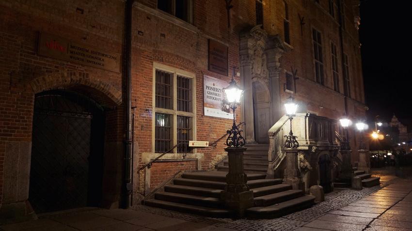 Gdańsk nocne zdjęcia