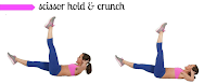 butterfly crunches exercise