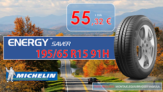 Neumáticos MICHELIN Energy Saver 195/65 R15  91H