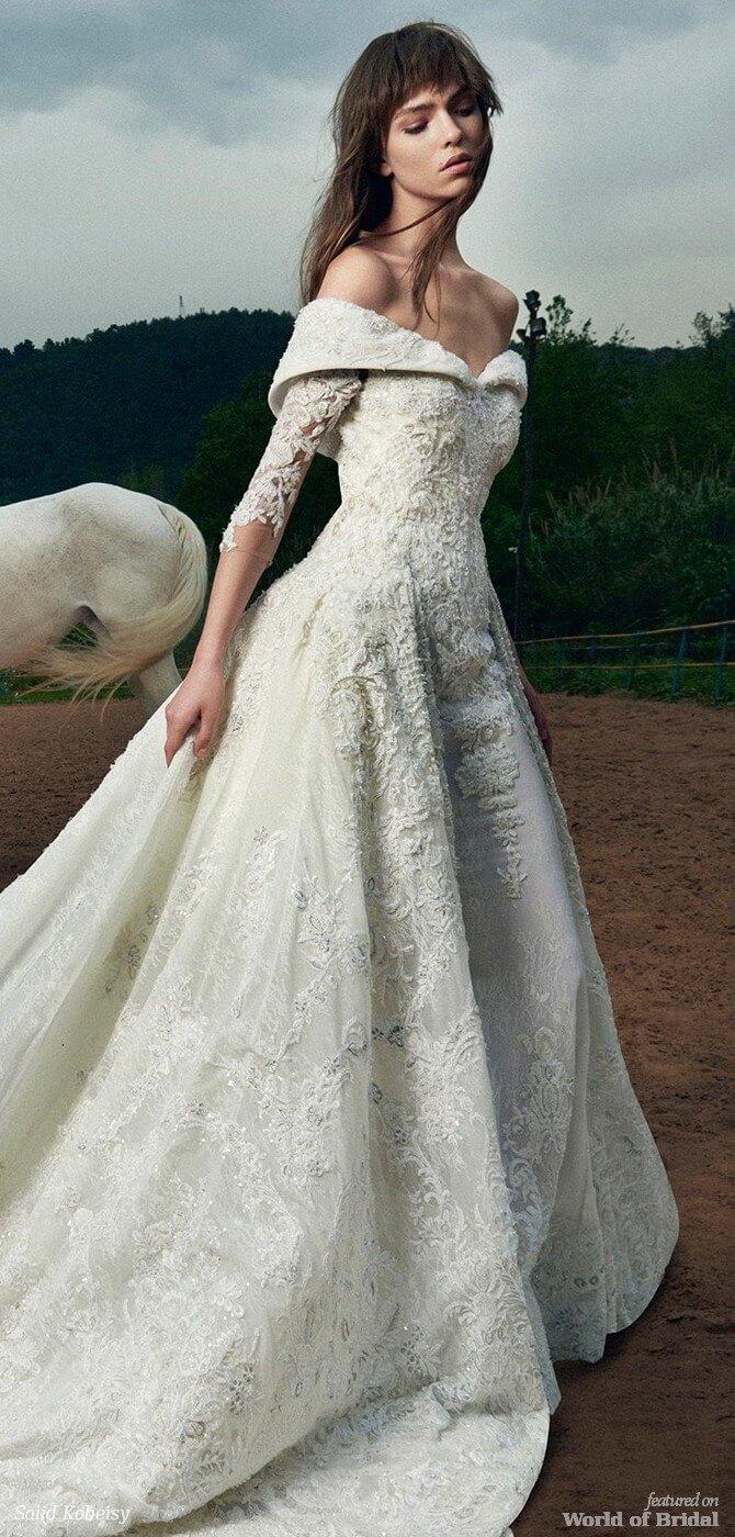 Saiid kobeisy 2018 wedding dresses world of bridal for Saiid kobeisy wedding dresses