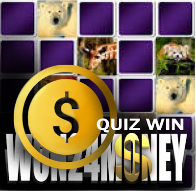 quiz with a monetary reward
