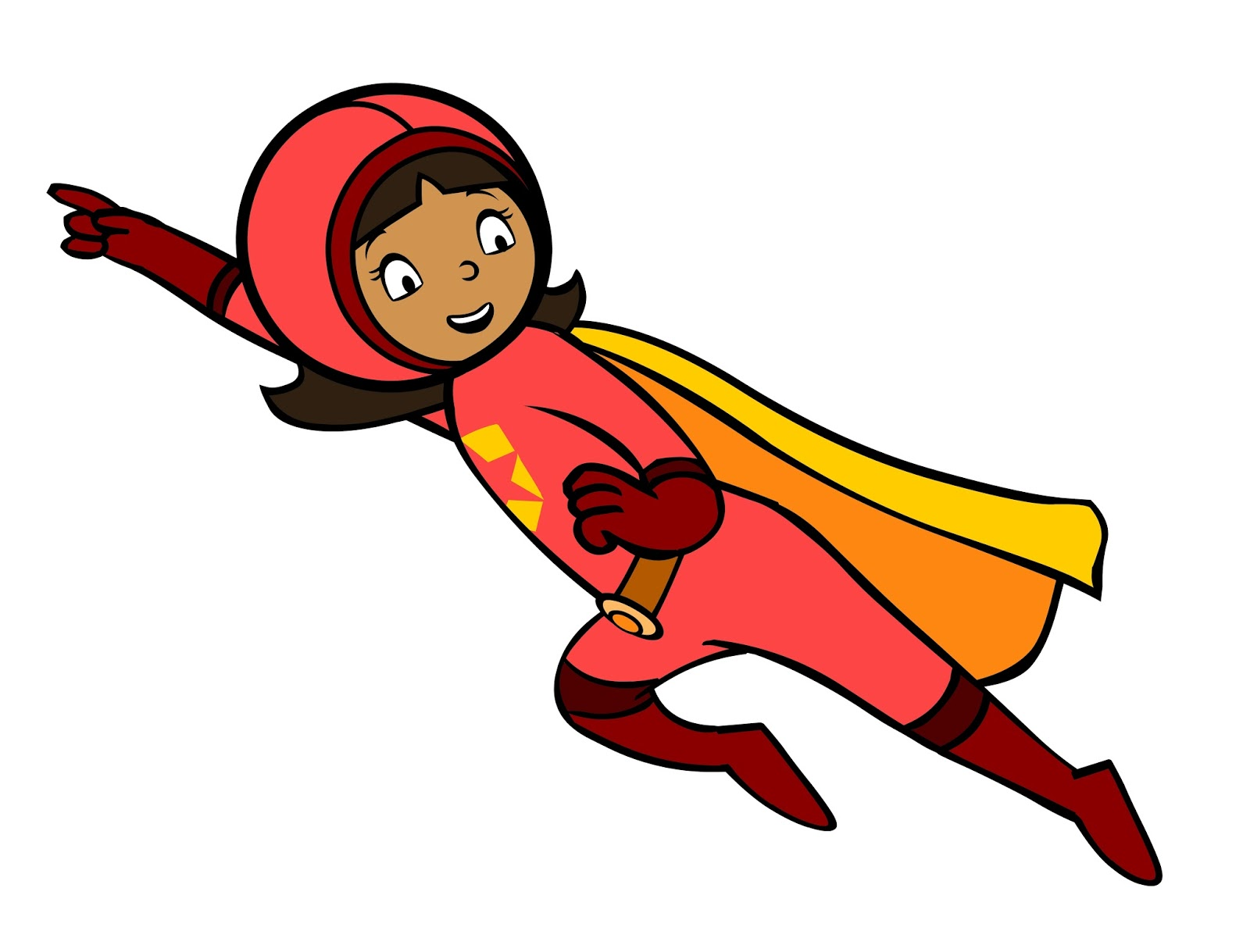 Her Name Is Becky Botsford But When She Goes Undercover She Dons Her Salmon Suit And Yellow Cape To Become Wordgirl