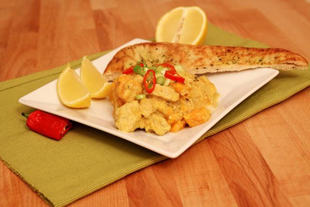 Tajskie curry ze słodkim ziemniakiem