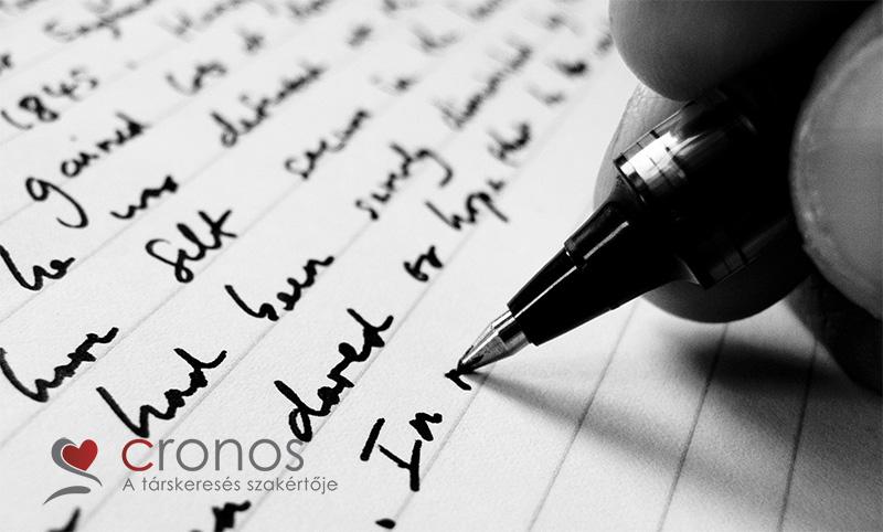 hogyan kell írni egy üzenetet a társkereső