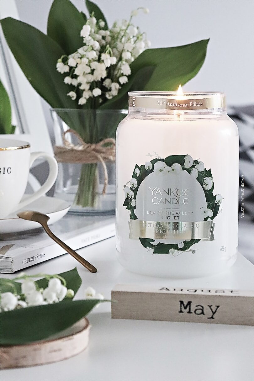 yankee candle lily of the valley 50th anniversary