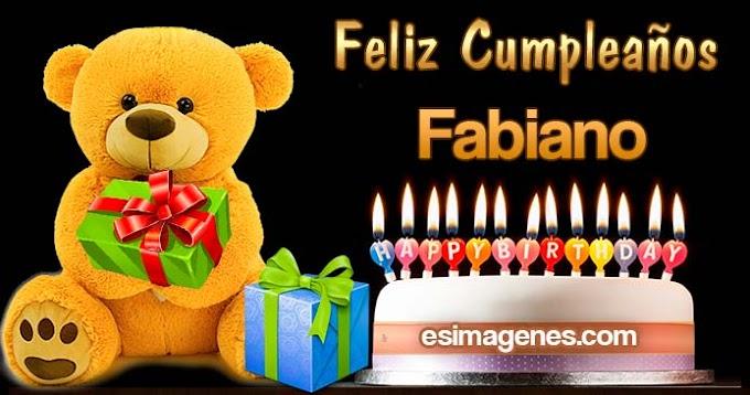 Feliz Cumpleaños Fabiano