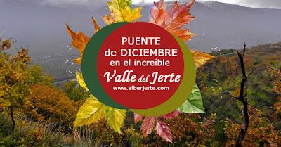 OFERTA: Puente de diciembre 2018 en el Valle del Jerte