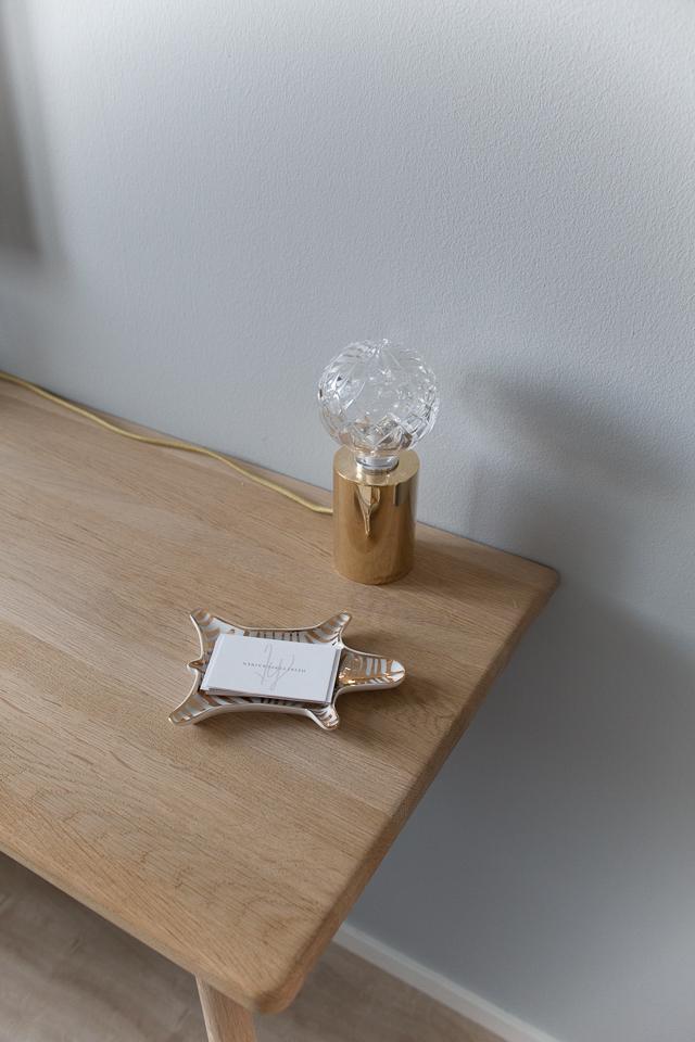 työpöydällä, villa h, crystal bulb valaisin