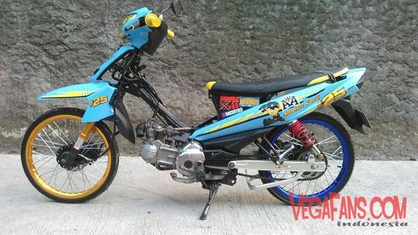 Modif Vega ZR Velg TDR