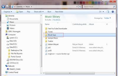 cara membuat folder baru di komputer