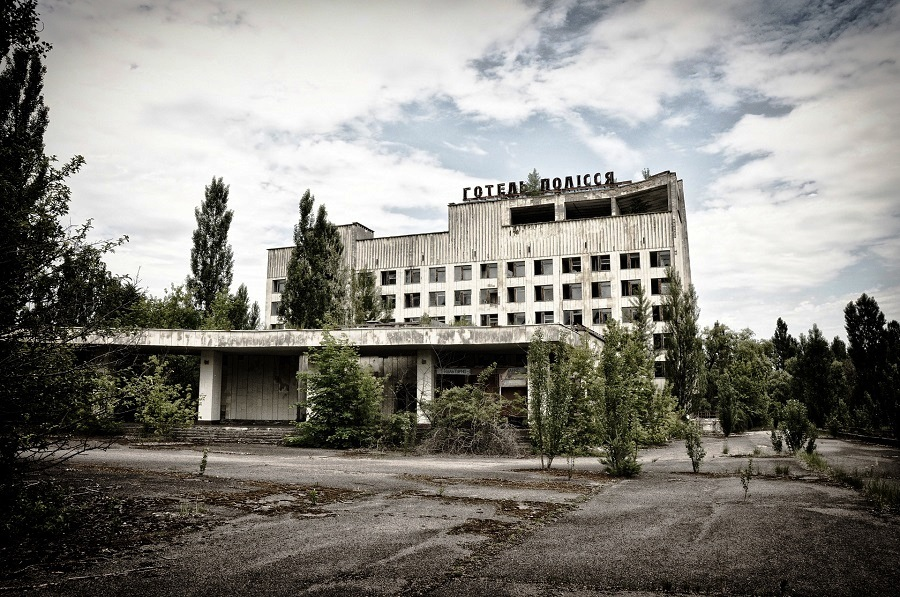 Pripyat, Ukraine - A City of 50 Thousand People Now Turned Into A Ghost City