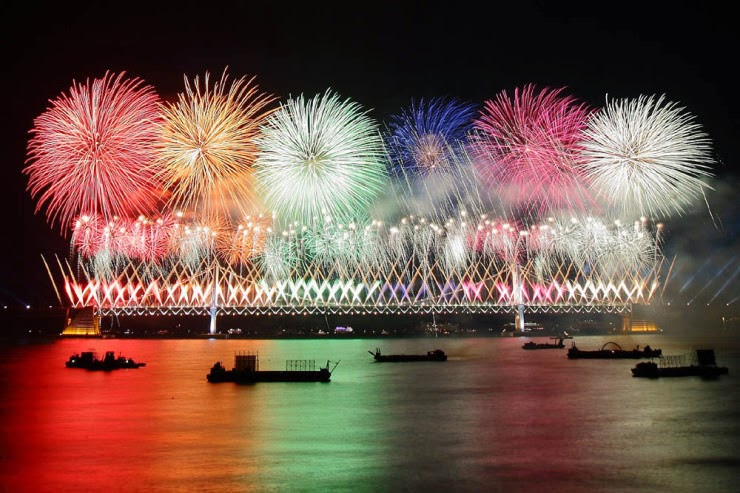 22. Busan Fireworks Festival, Busan, South Korea - 29 Colorful Festivals and Celebrations Around the World