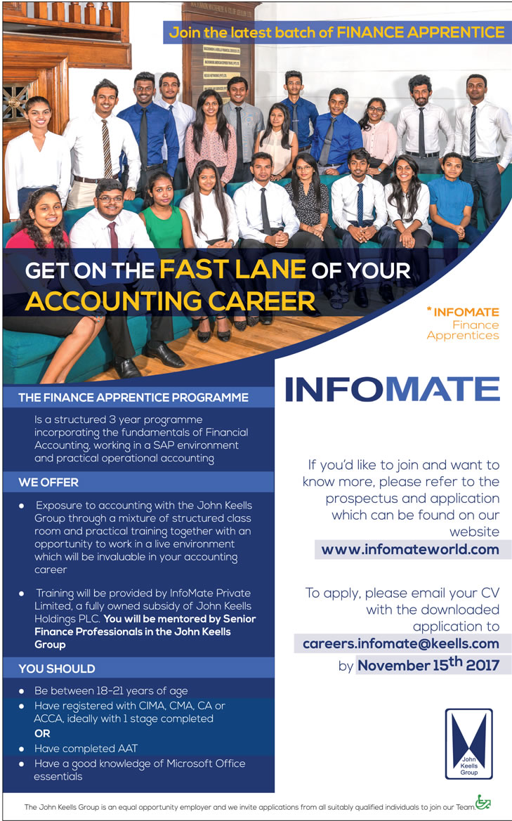 The Finance Apprentice Programme