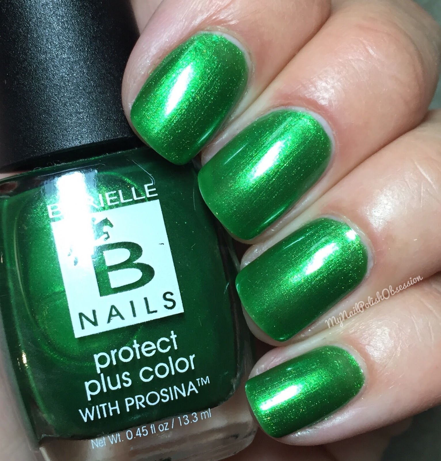 My Nail Polish Obsession: Barielle Protect Plus Color with Prosina ...