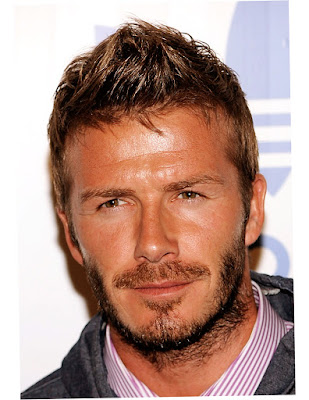 Hairstyles For Thick Hair Men Picture David Beckham Artist