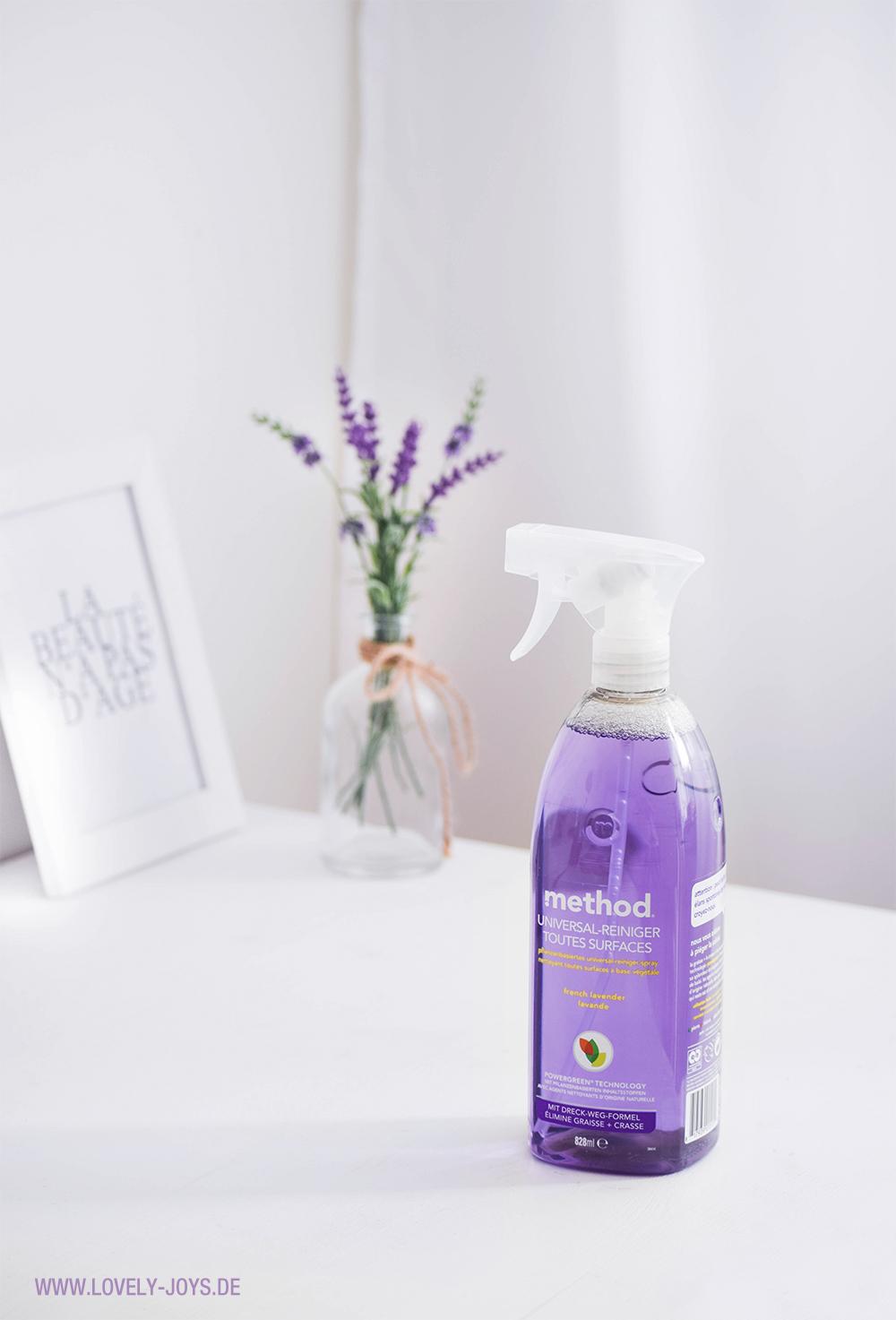 Method Vegan Universal Reiniger Lila gesund ohne Chemie Lavendel