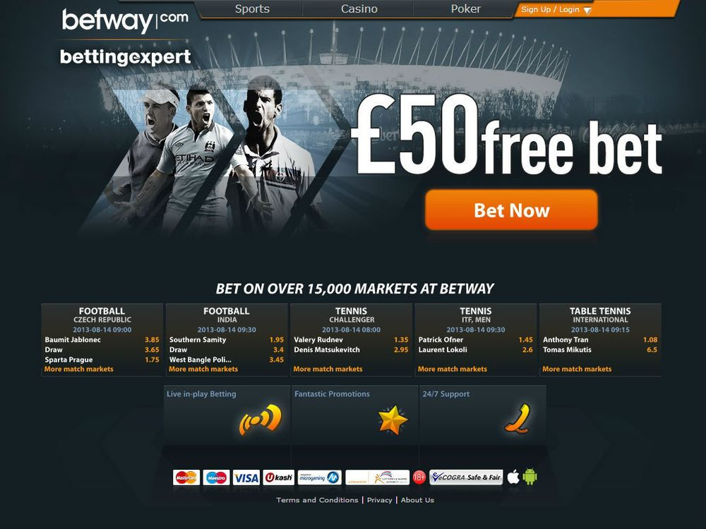 support betway sports