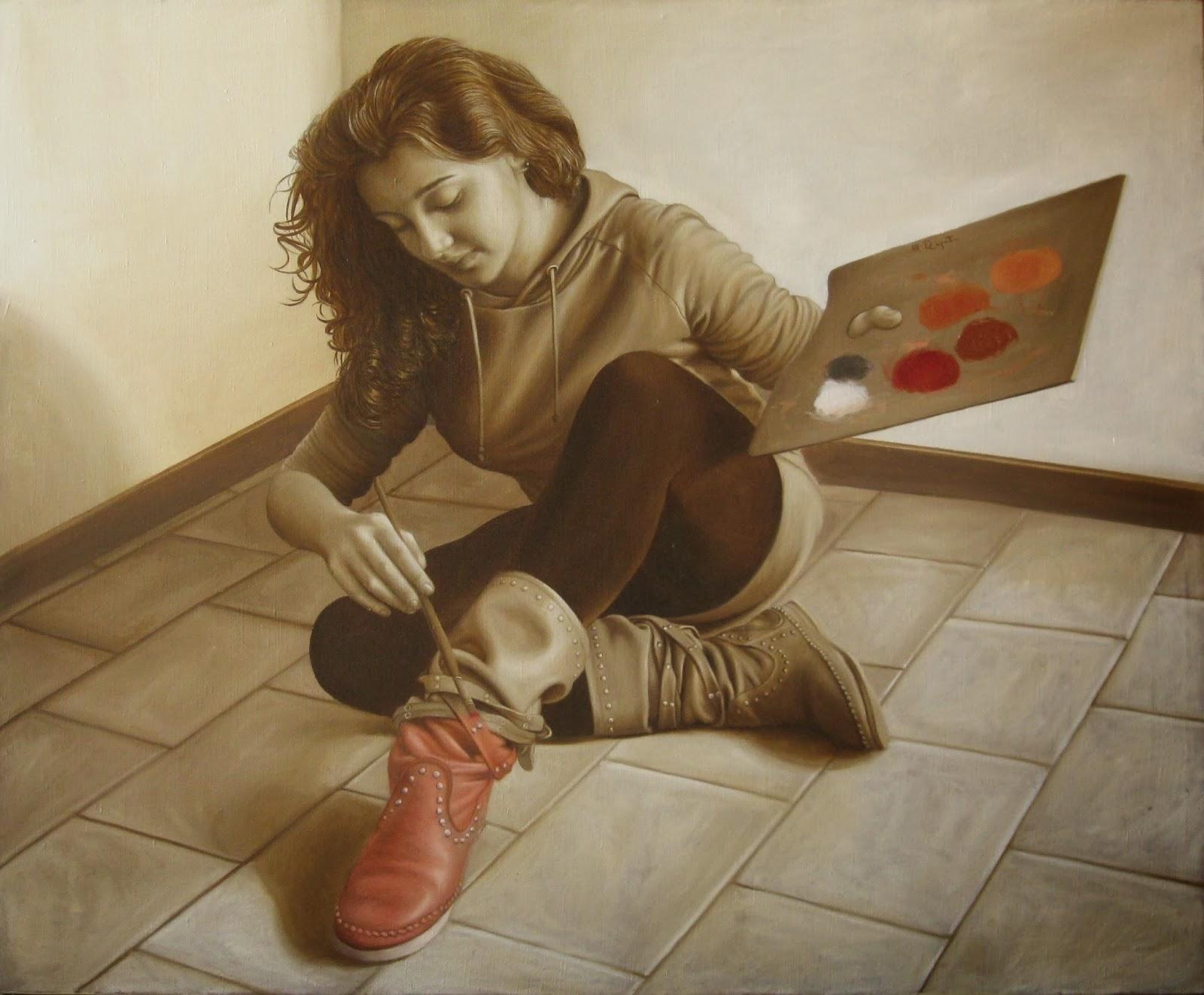 Italian Artist Maurizio Rapiti