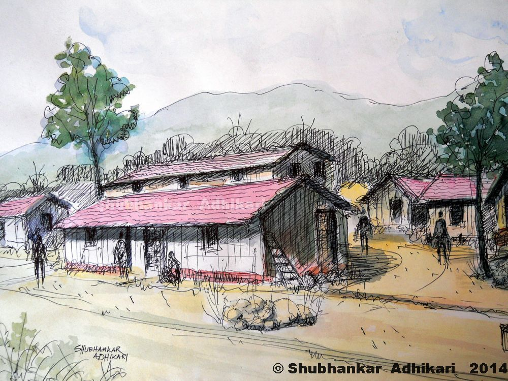 Artworks by Shubhankar Adhikari - 189.0KB