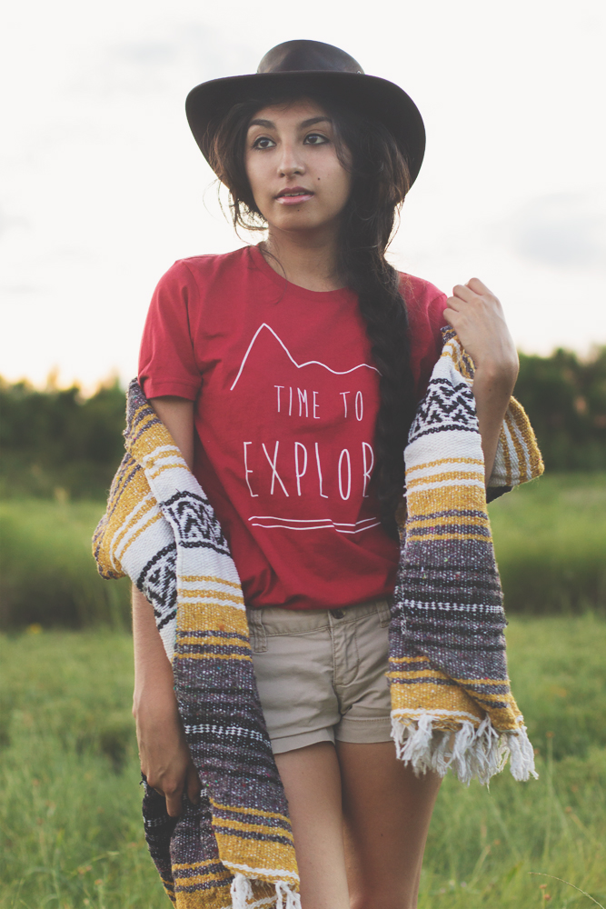 Bohemian Time to Explore Travel Tee | The Wanderful Soul