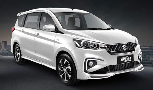 All New Suzuki Ertiga Sport Pearl Snow White