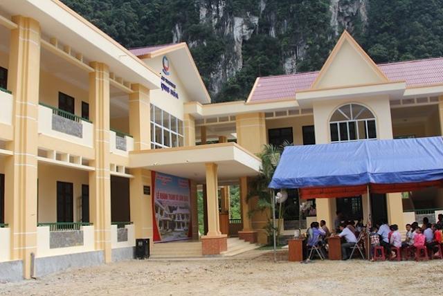 Vietnam Airlines builds school for ethnic minority pupils