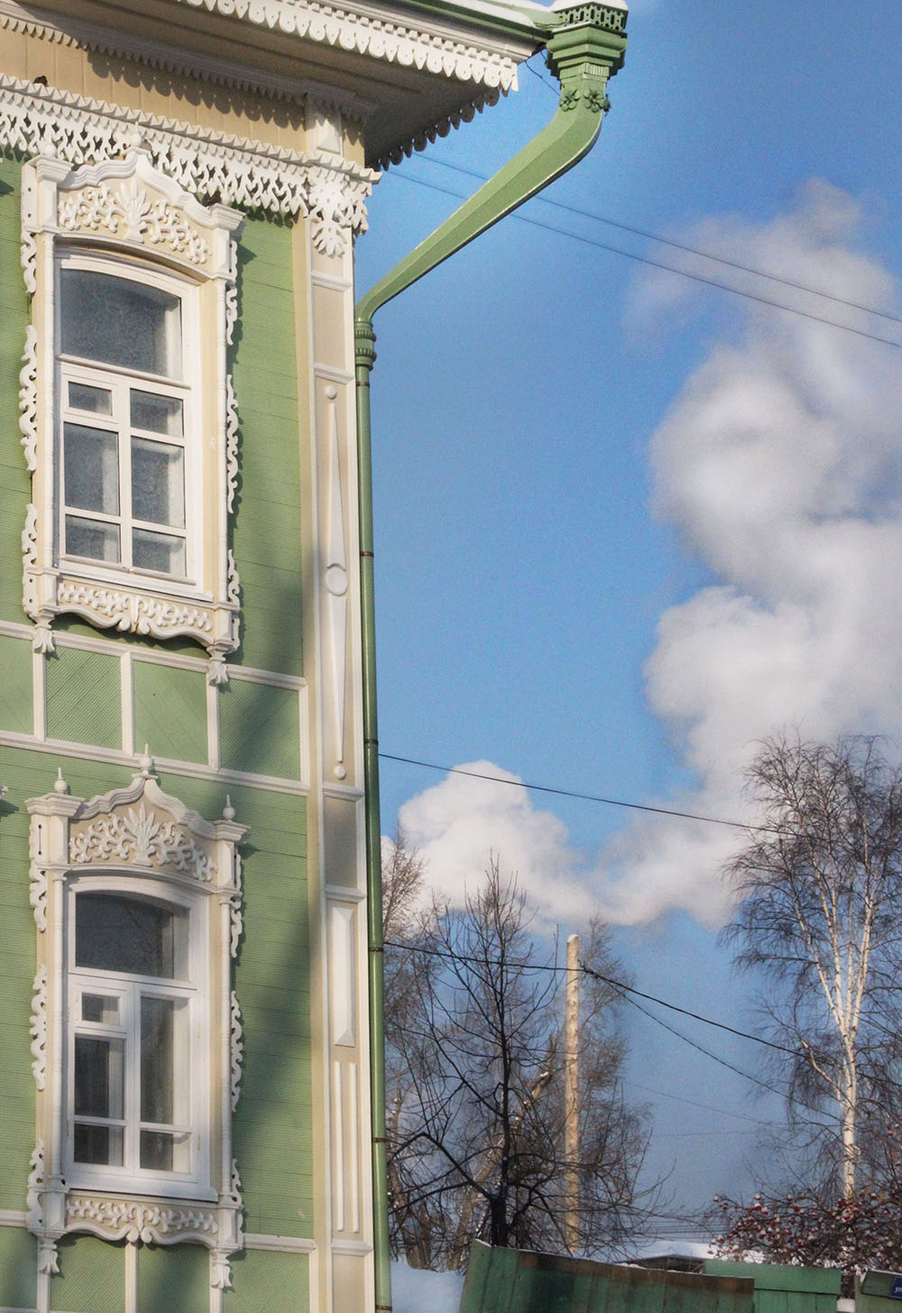 Tomsk Wooden Lace Architecture